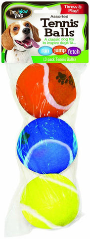 BOW WOW - Pals Dog Toy Tennis Balls