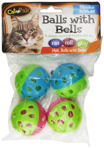 CAT PALS - Bow Wow Cat Ball with Bell