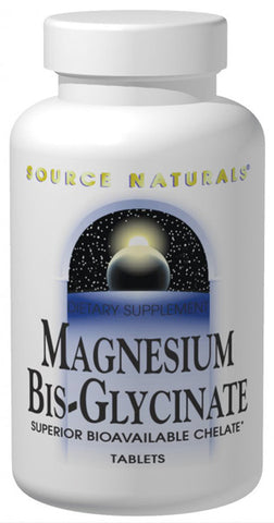 Source Naturals Magnesium Bis Glycinate
