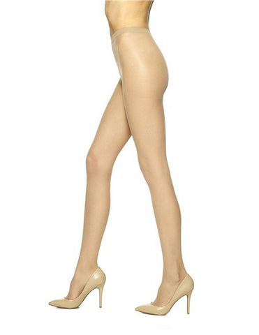 NO NONSENSE - Pantyhose Regular Reinforced Toe Size A Nude