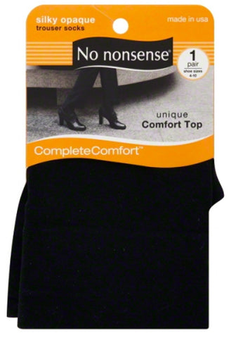NO NONSENSE - Silky Opaque Trouser Socks Black