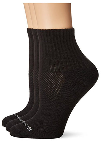 NO NONSENSE - Soft and Breathable Black Crew Socks
