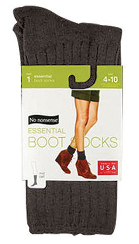 NO NONSENSE - Essential Boot Socks Espresso