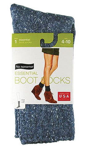 NO NONSENSE - Essential Boot Socks Denim