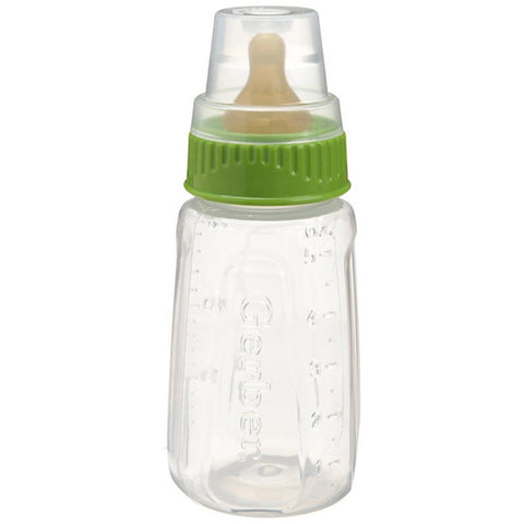 GERBER - First Essentials Clear View Silicone Bottle Slow Flow