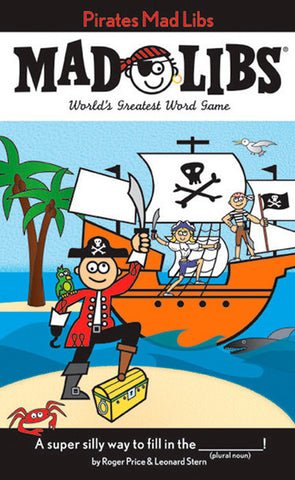 PRICE STERN SLOAN - Pirates Mad Libs