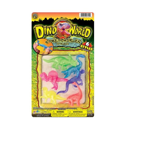 "JA-RU - Dino World Stretchy 6""x10"""