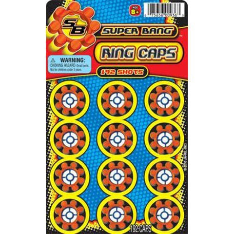 "JA-RU - Super Bang Ring Cap 4""x7"""