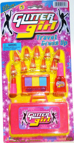 "JA-RU - Glitter Girl Travel Dress Up Toy 6""x12"""