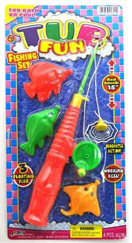 "JA-RU - Tub Fun Fishing Set 6""x12"""