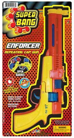 "JA-RU - Super Bang Enforcer Cap Gun 6""x12"""