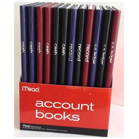 MEAD - Account Book Assorted Colors