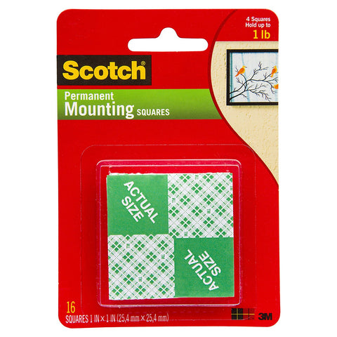 SCOTCH - Mounting Squares Tape