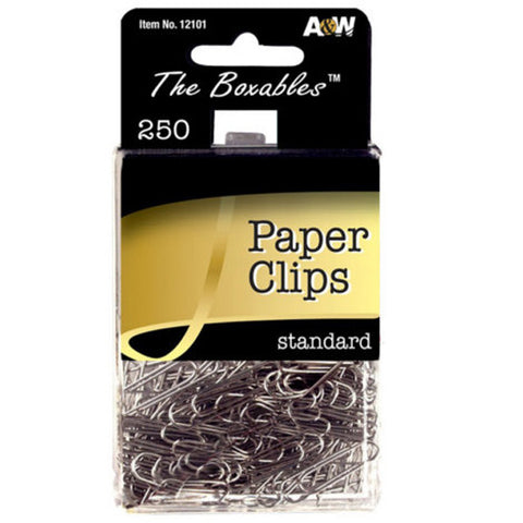A & W - Standard Paper Clips Boxable