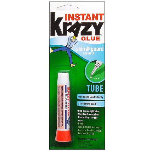 KRAZY GLUE - Instant All Purpose Glue Skin Guard Formula