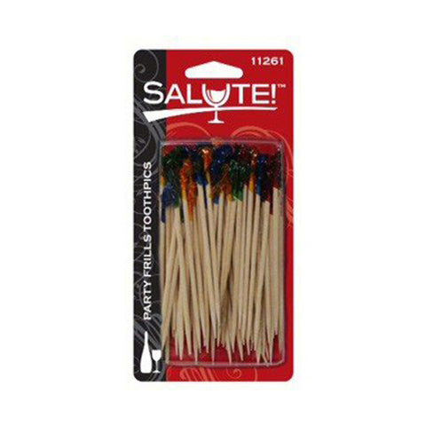 SALUTE! - Party Frill ToothPicks