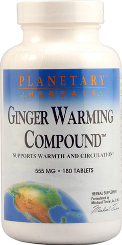Planetary Herbals Ginger Warming Compound
