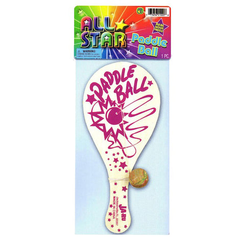 JA-RU - All Star Wood Paddle Ball