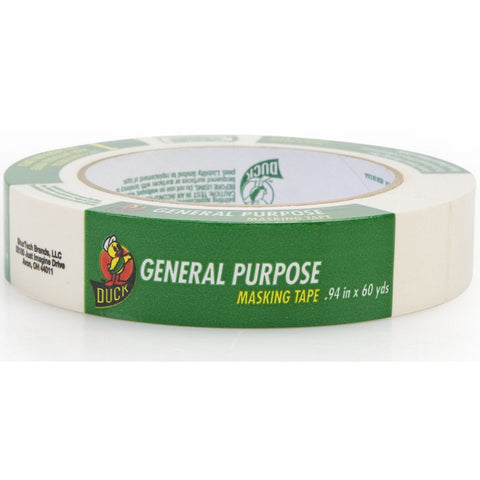 DUCK - General Purpose Masking Tape Single Roll Beige