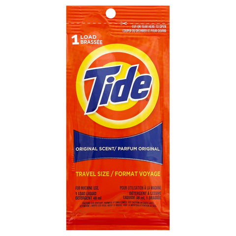 TIDE - Ultra Liquid Laundry Detergent, Original Scent, Travel Size