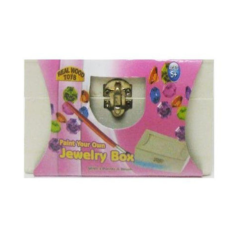 HOMEWARE - Jewelry Box Color Paint Assorted