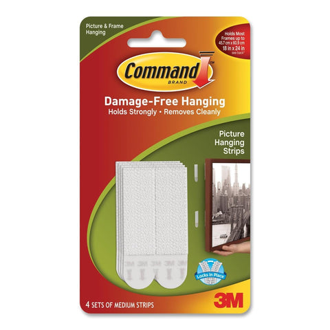 COMMAND - Medium Picture Hanging Strips