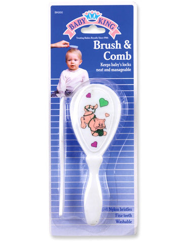 BABY KING - Infant Comb and Brush Set