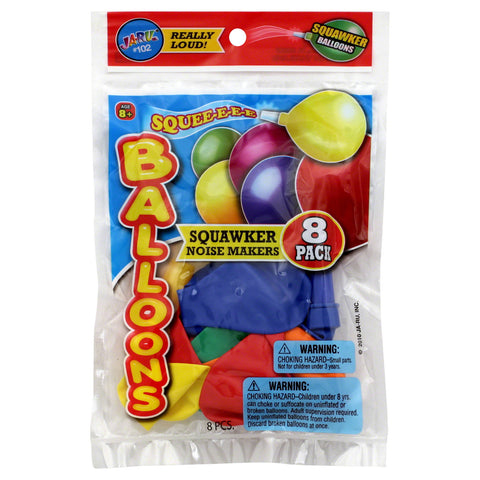 JA-RU - Balloons Squawker Noise Makers