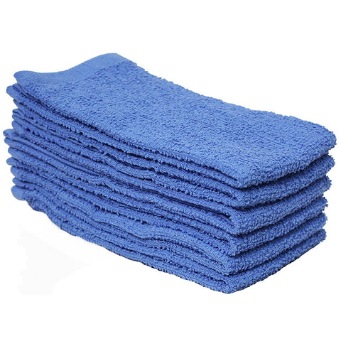 J & M - Bar Mop Towel Blue