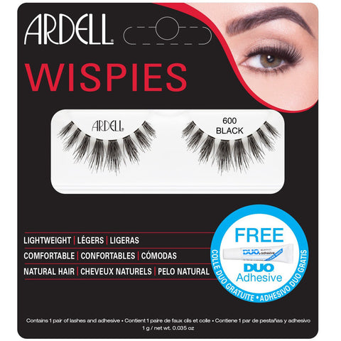 ARDELL - Wispies Cluster Lashes Black #600
