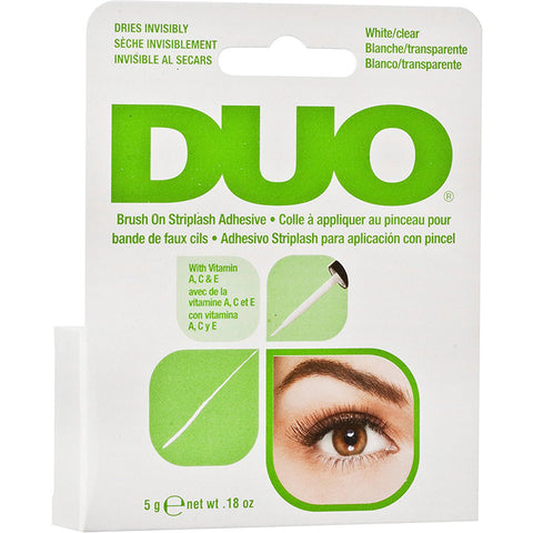 ARDELL - DUO Brush-On Lash Adhesive with Vitamins A, C & E, Clear