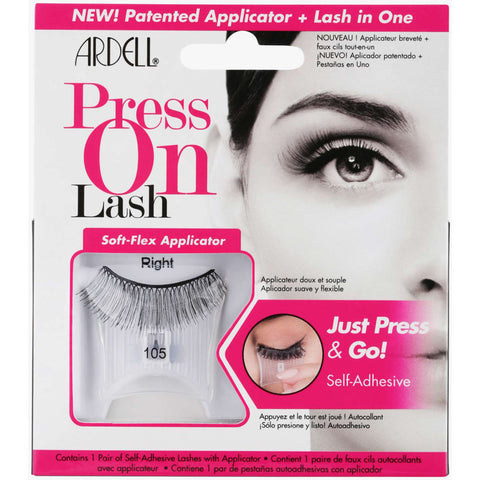ARDELL - Self-Adhesive Press On Lash #105 Black