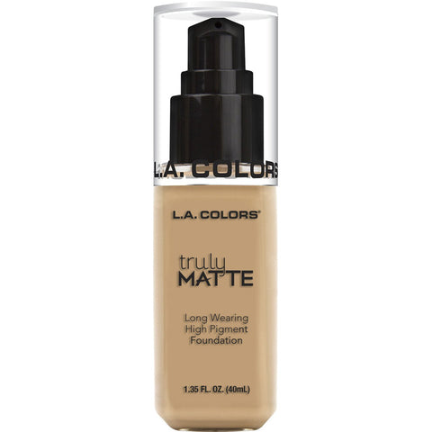 L.A. COLORS - Truly Matte Foundation Natural