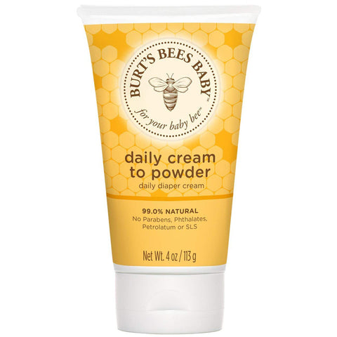 BURT'S BEES - Baby Daily Cream to Powder