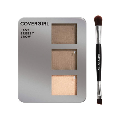 COVERGIRL - Easy Breezy Brow Powder Kit, Soft Blonde