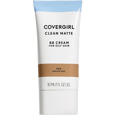 COVERGIRL - Clean Matte BB Cream Medium/Deep 550