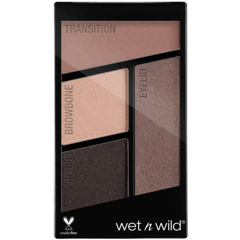WET N WILD - Color Icon Eyeshadow Quads Silent Treatment