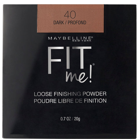 MAYBELLINE - Fit Me Loose Finishing Powder, Dark