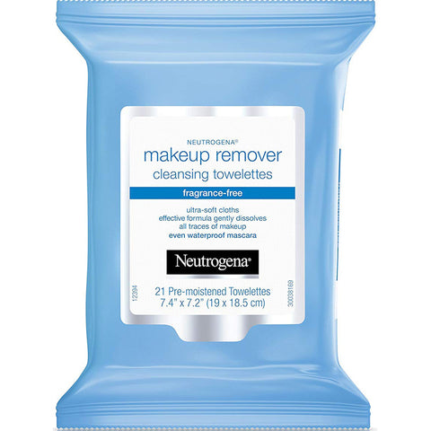 NEUTROGENA - Makeup Remover Cleansing Towelettes, Fragrance Free