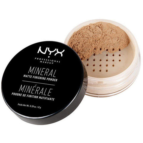 NYX - Mineral Finishing Powder, Medium/Dark