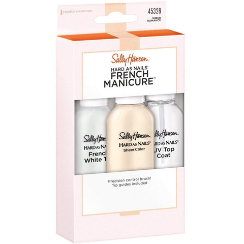 SALLY HANSEN - Hard As Nails French Manicure Sheer Romantic Kit