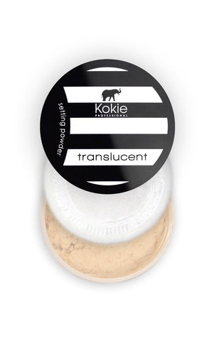 KOKIE COSMETICS - Natural Translucent Setting Powder