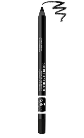 KOKIE COSMETICS - Velvet Smooth Eyeliner Deepest Black