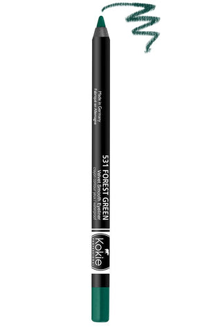 KOKIE COSMETICS - Velvet Smooth Eyeliner Forest Green