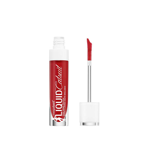 WET N WILD MegaLast Liquid Catsuit High-Shine Lipstick, Bad Girl's Club