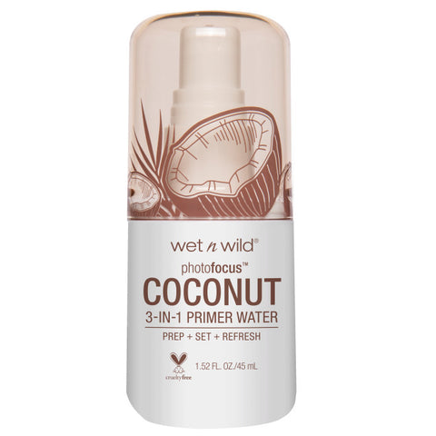 WET N WILD Photo Focus Primer Water, In Love With Coconut