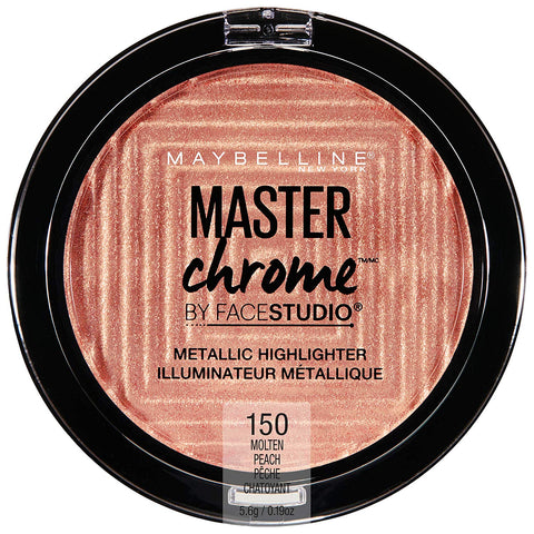 MAYBELLINE Face Studio Master Chrome Highlighter Molten Peach