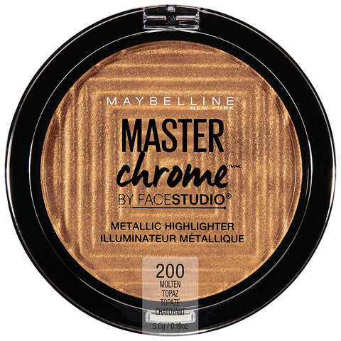 MAYBELLINE Face Studio Master Chrome Highlighter Molten Topaz