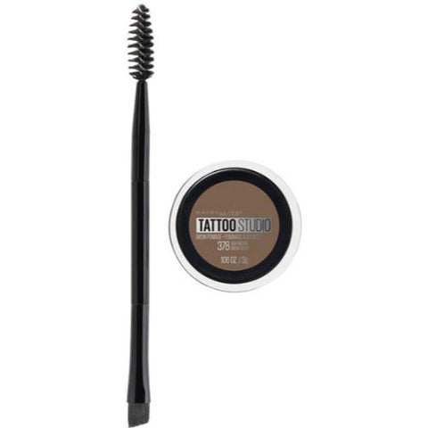 MAYBELLINE TattooStudio Brow Pomade Eyebrow Makeup Ash Brown