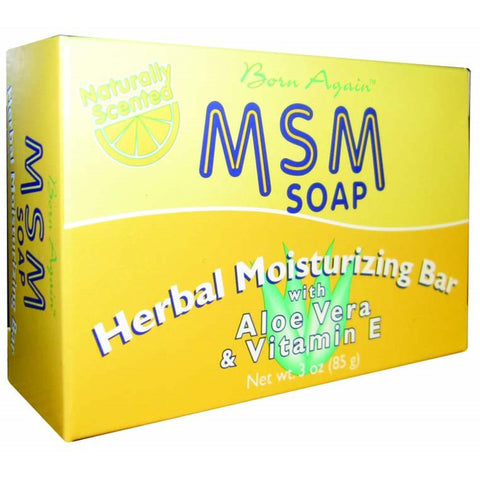 AT LAST NATURALS - Born Again MSM Herbal Moisturizing Soap